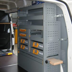 Equipamientos furgonetas Volkswagen Transporter