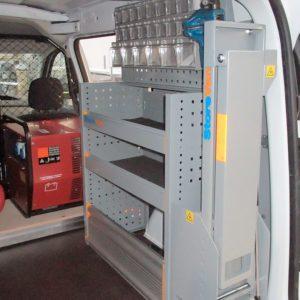 Allestimento furgoni per Dacia Dokker