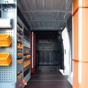 Allestimento furgoni per Hyundai H350
