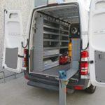Zabudowy samochodów serwisowych Mercedes-Benz Sprinter