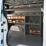 Allestimento furgoni per Nissan NV300