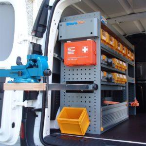 Allestimento furgoni per Renault Kangoo