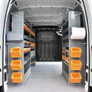 Allestimento furgoni per Renault Master