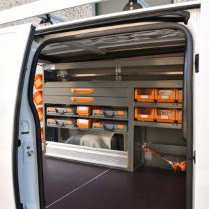 Aménagements Véhicule Utilitaire Toyota Proace