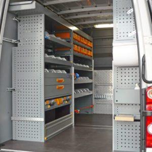 Allestimento furgoni per Volkswagen Crafter