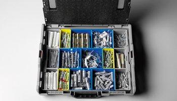 Beispiele für Koffer. Teilern serie 102-374