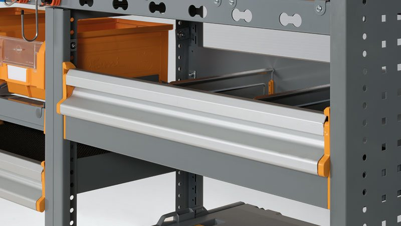 Portes levantes en aluminium pour fourgons