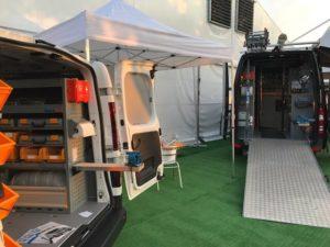 Allestimento furgoni Store Van Fiera Socco