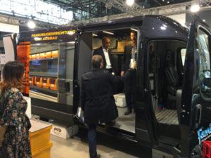 Allestimento furgone POST-EXPO 2017