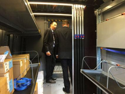 Allestimento furgoni per spedizionieri