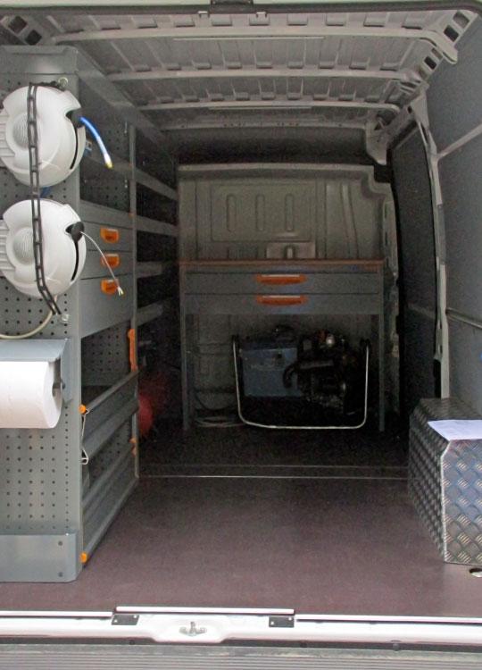 Allestimento per furgoni Ducato