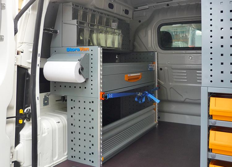 Allestimento furgone Fiat Fiorino