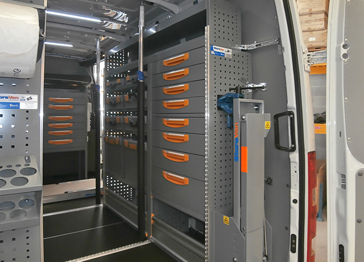 Allestimento Iveco Daily