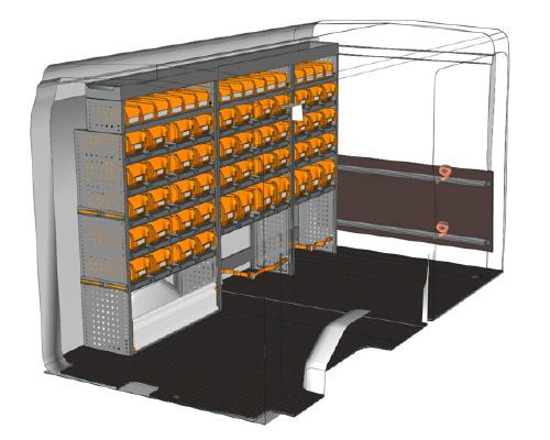 Officina mobile Transit per idraulici