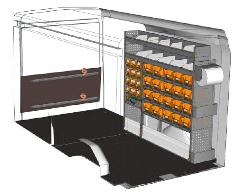 Allestimento Ford Transit L3 H2