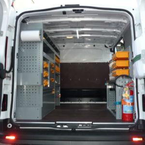 Allestimenti interni per furgoni Fiat Talento