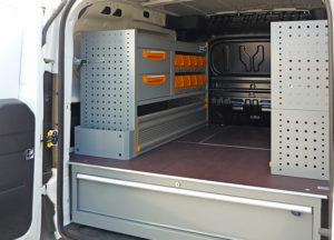 Allestimento Fiat Doblò Cargo