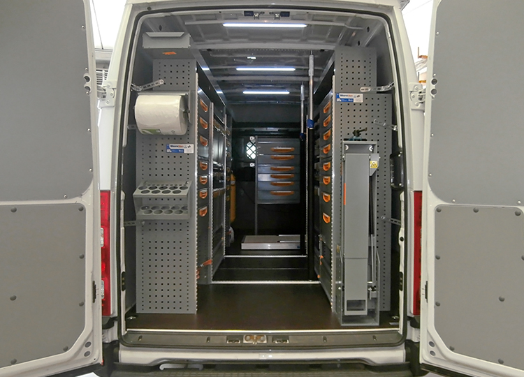 Allestimento Daily Iveco