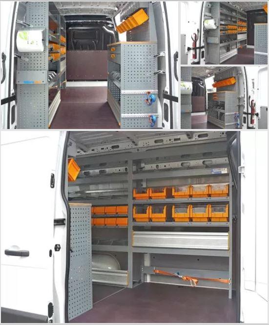 Allestimento Opel Movano L2 H2