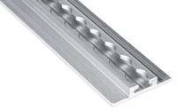 Horizontal aluminium bar