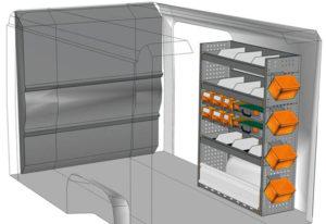 Equipamiento furgoni Ducato L1 H1 / CH1 DU-1014-05