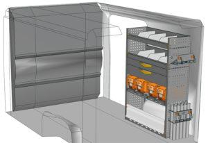Equipamiento furgoni Ducato L1 H1 / CH1 DU-1014-08
