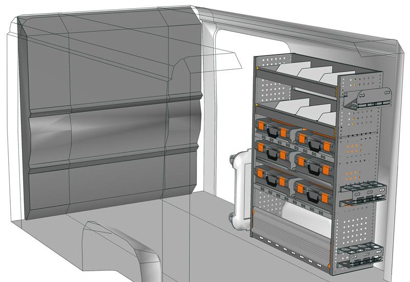 Aménagement Jumper DU-1014-M2