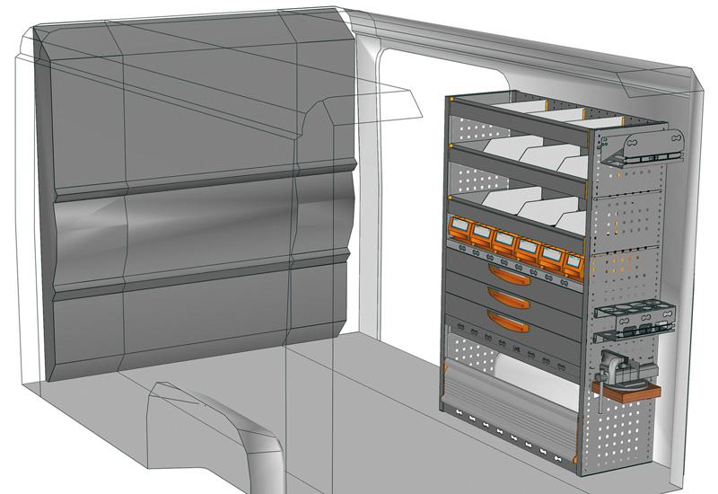 Vans equipment Ducato DU-1014-P2