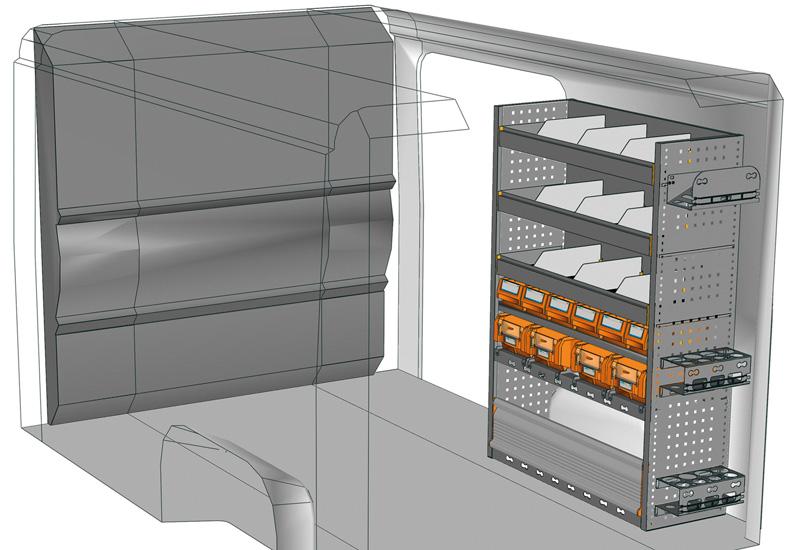 Vans equipment Ducato DU-1014-P3