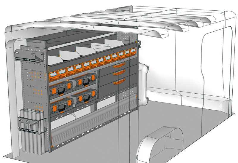 Przykładowa zabudowa do Vivaro TA-2013-M1