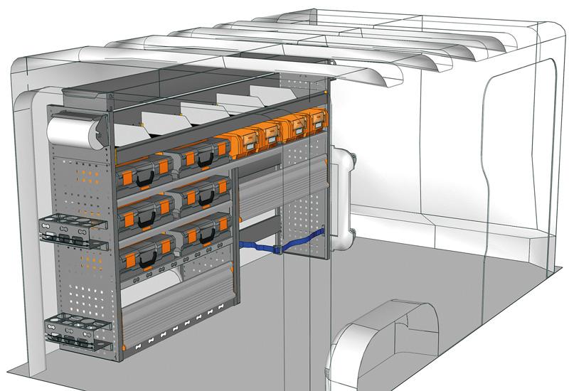 Przykładowa zabudowa do Vivaro TA-2013-M2