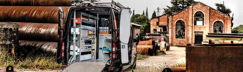 Officina mobile Store Van