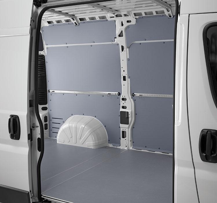 Van flooring and interior panelling | Store Van