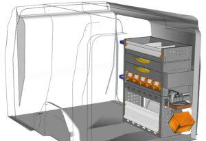 Przykładowa zabudowa do Combo DO-0710-P3