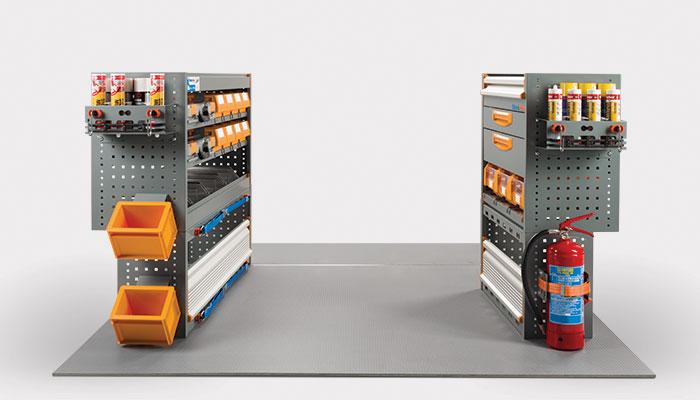 Scaffalature Furgoni Usate.Allestimento Furgone Doblo Con Soluzioni Per Ogni Settore