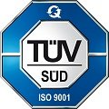TÜV-certified friction coefficient