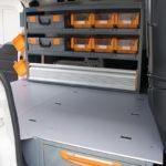 Pianale rialzato per furgoni