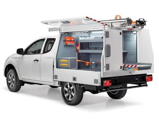 Allestimento Pickup per Fiat Fullback e Mitsubishi L200