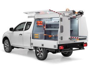 Equipamiento camioneta taller movil