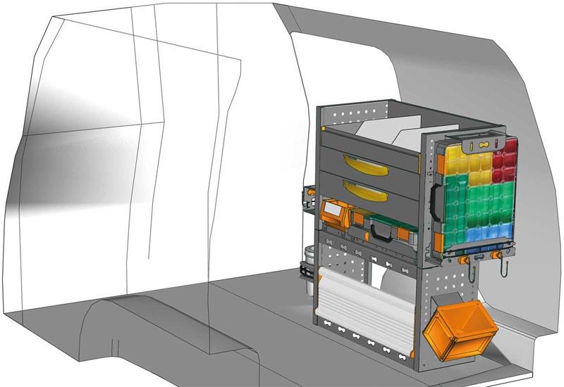 Van equipments Caddy CA 0709 07
