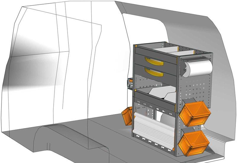 Van equipments Caddy CA 0709 08