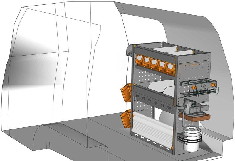 Van equipments Caddy CA 0709 12