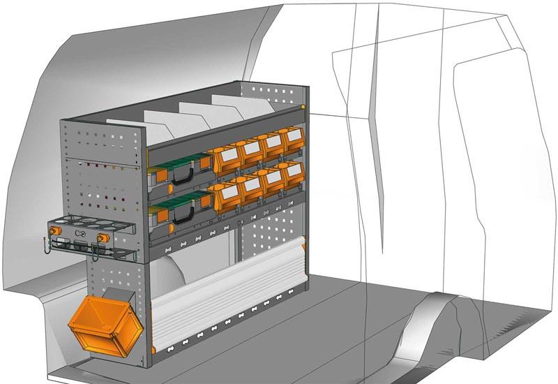 Van equipments Caddy CA 1209 06