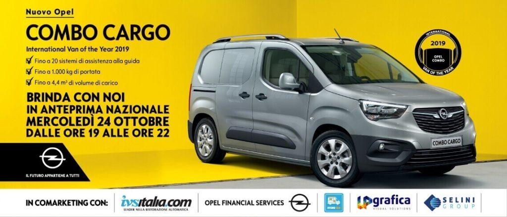 Nuovo Opel Combo Cargo con allestimento Store Van
