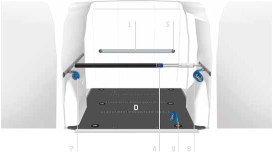 Plancher pour Volkswagen Caddy Safety Floor