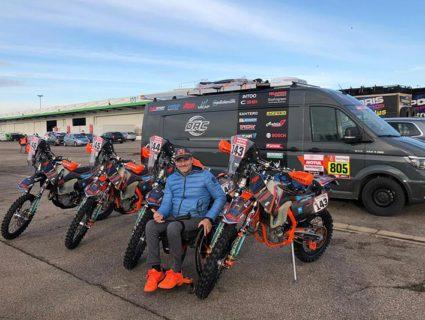 Nicola Dutto alla Dakar 2019