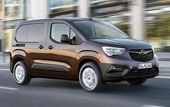 Equipamiento furgonetas Opel Combo