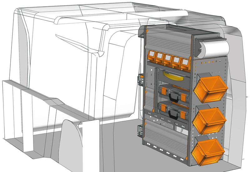 Fahrzeugeinrichtungen Combo PA 0711 M3