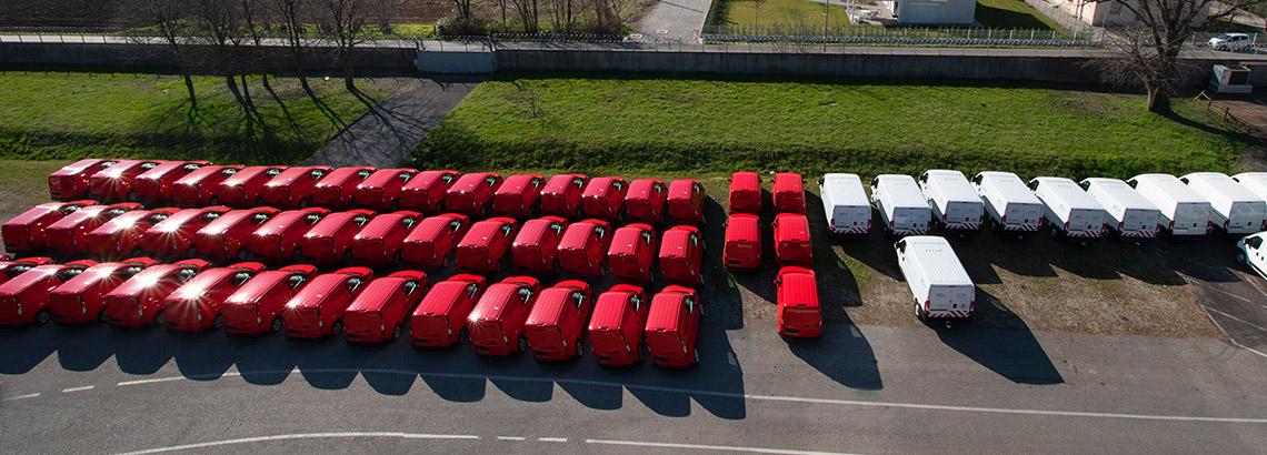 Firmowe floty samochodowe i parki pojazdów