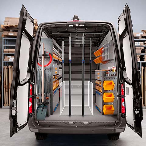 Van racking and shelving